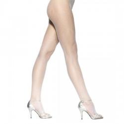 LEG AVENUE PANTIES DE REJILLA BLANCO