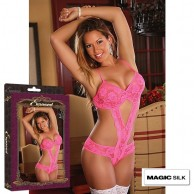 BODY ABIERTO ESTAMPADO FLORAL MAGIC SILK